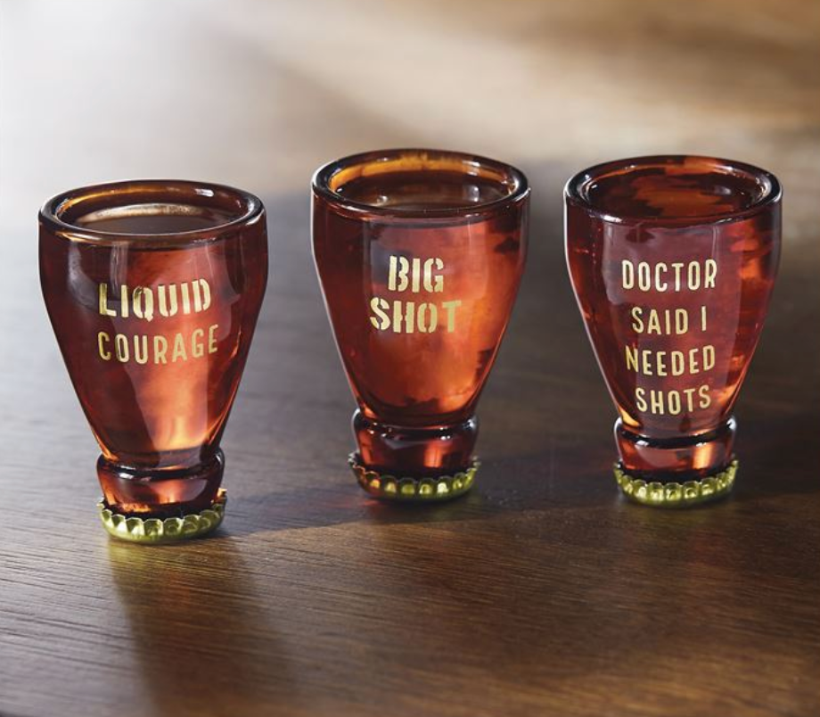 Beer Style Shot Glass