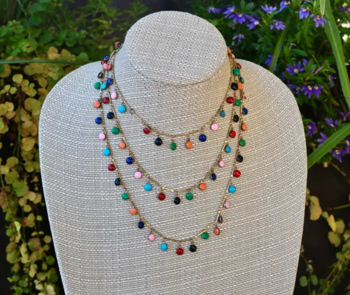 Syd Nichole - Multi Confetti Necklace