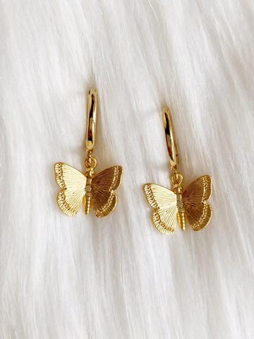 Syd Nichole - White Roaring Feathers Earrings