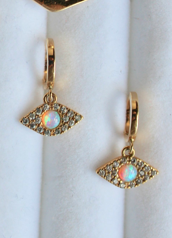 Syd Nichole - Silver Candy Earrings