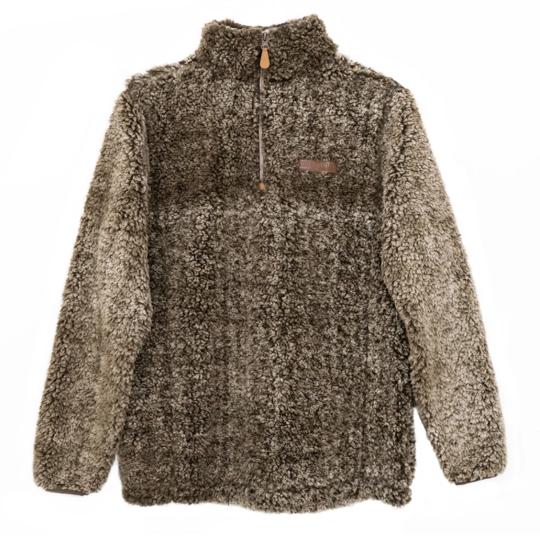 Rugged Road Pullover - Brown