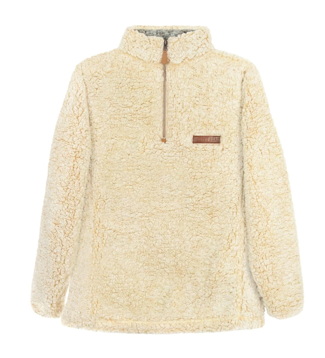 Rugged Road Pullover - Cream
