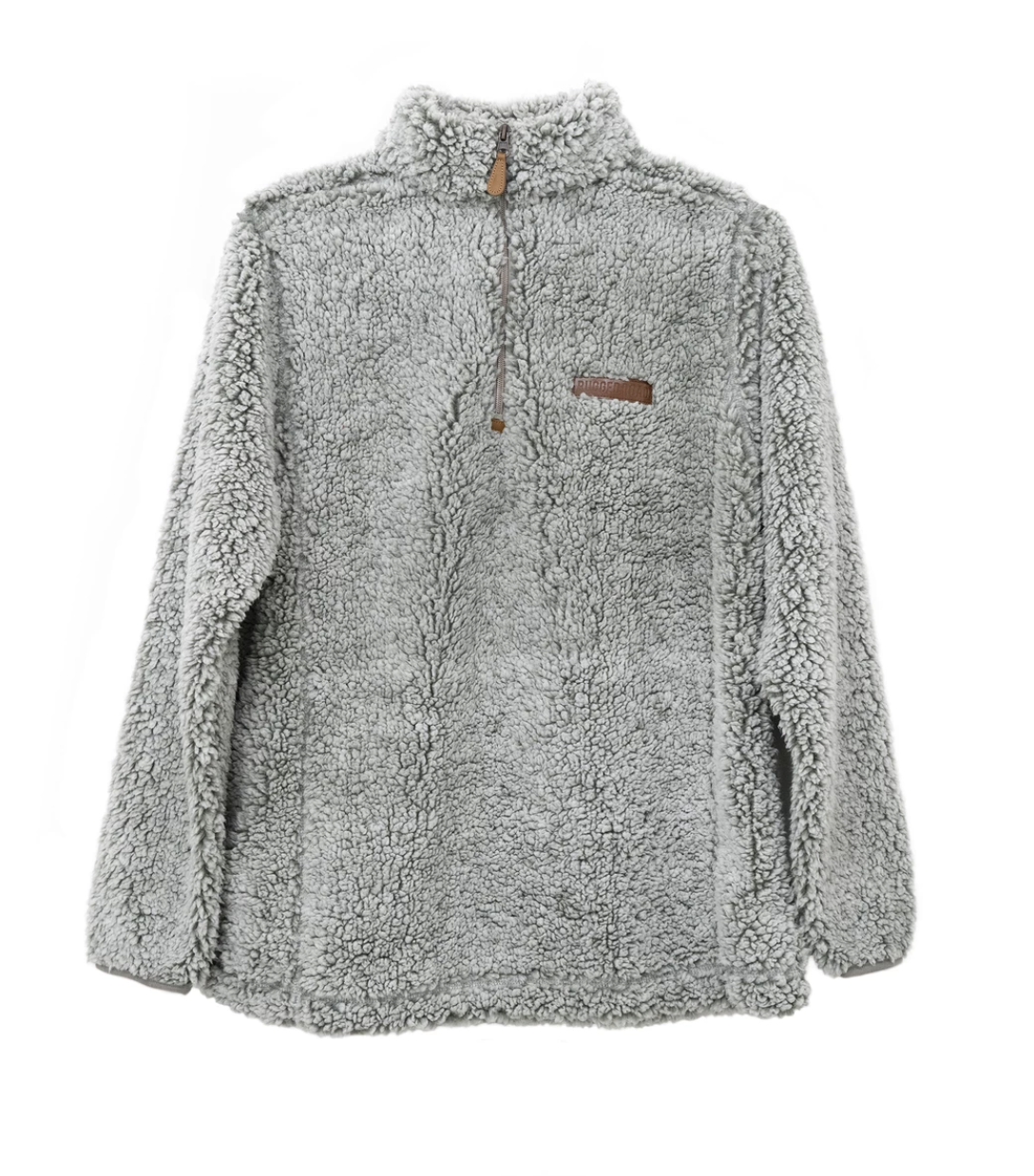Rugged Road Pullover - White Smoke