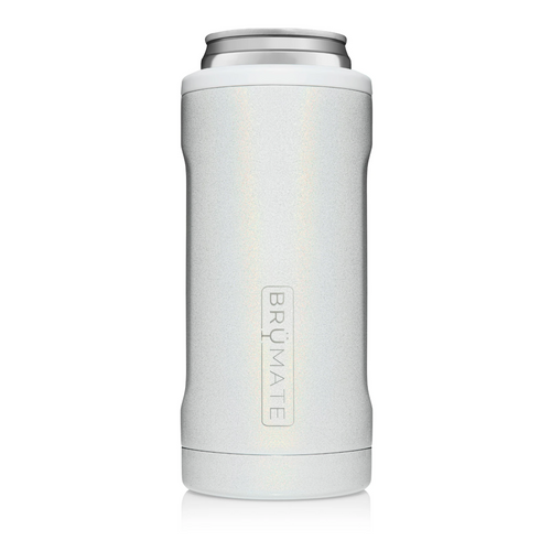 Hopsulator Slim - Glitter White (12oz Slim Cans)