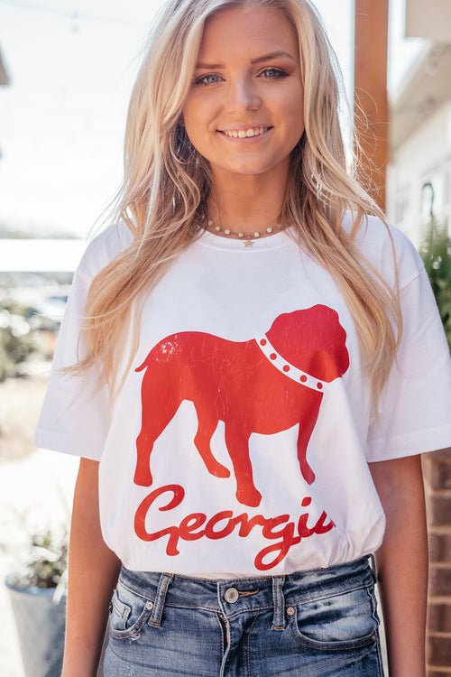 Distressed Dawg Tee