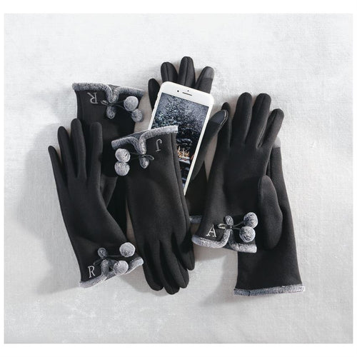 Mudpie Initial Texting Gloves