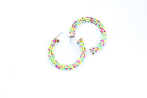 Shania Beaded Earring