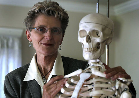 Dr. Lani Simpson & Boney the Skeleton