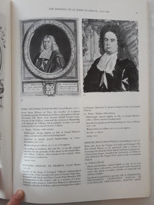 Image Of A Knight - Portrait Prints and Drawings of the Knights of St. John