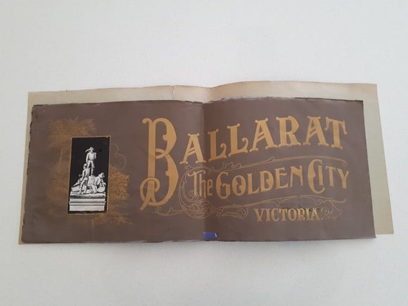 Ballarat: The Golden City: Victoria - Photographs by H. Phillips - c.1918
