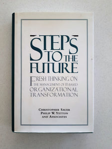 Steps To The Future by Christopher Sauer - Hardcover