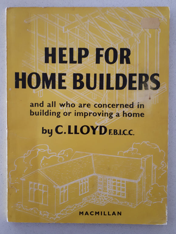 Help For Home Builders by C. Lloyd