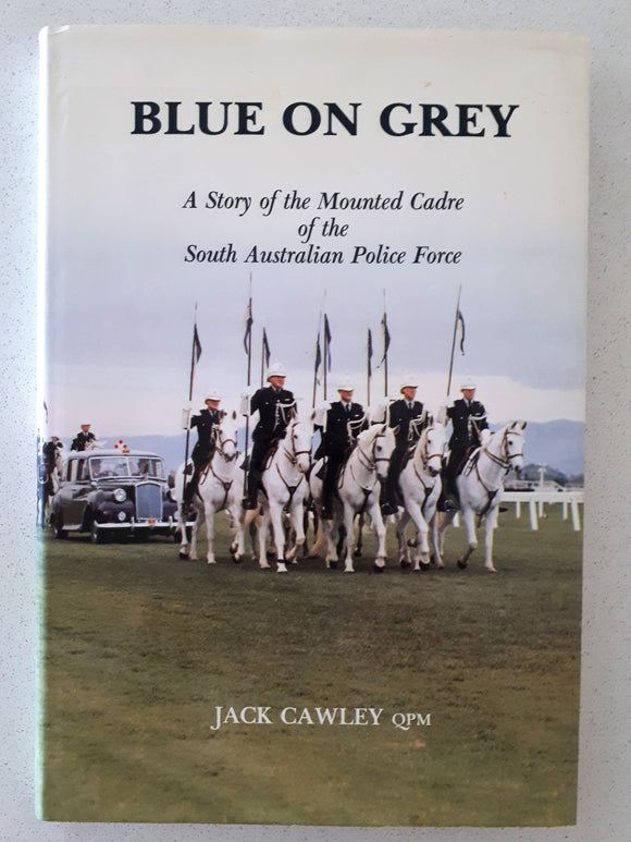 Blue On Grey by Jack Cawley