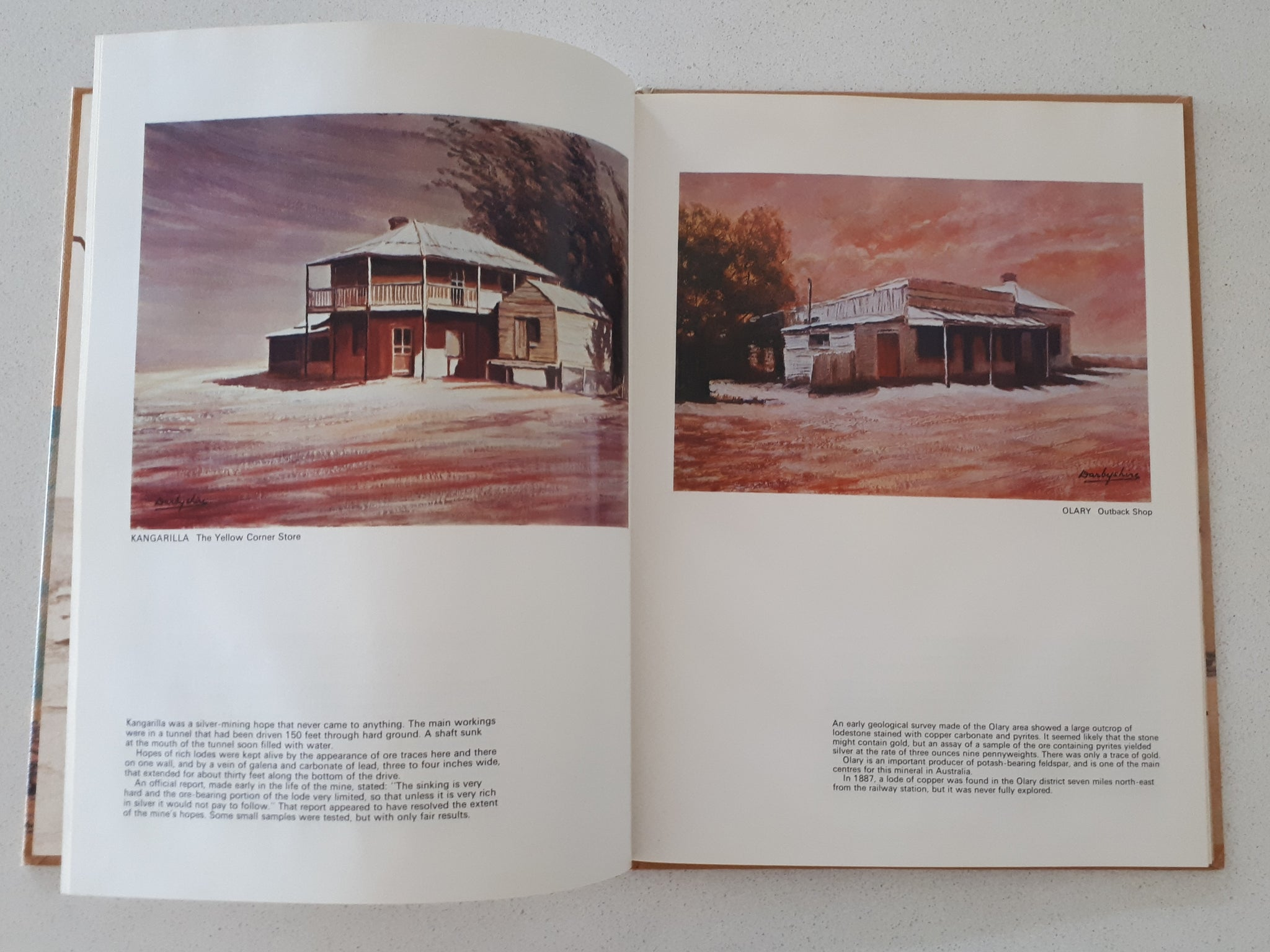 Old Mining Towns of South Australia by John Darbyshire