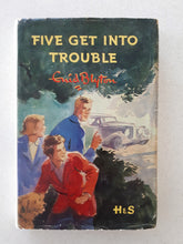 Load image into Gallery viewer, Five Get Into Trouble by Enid Blyton