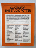 Glazes For The Studio Potter by Emmanuel Cooper & Derek Royle