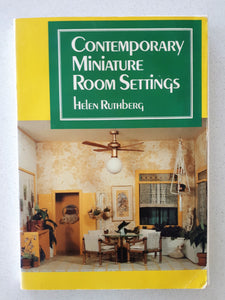 Contemporary Miniature Room Settings by Helen Ruthberg