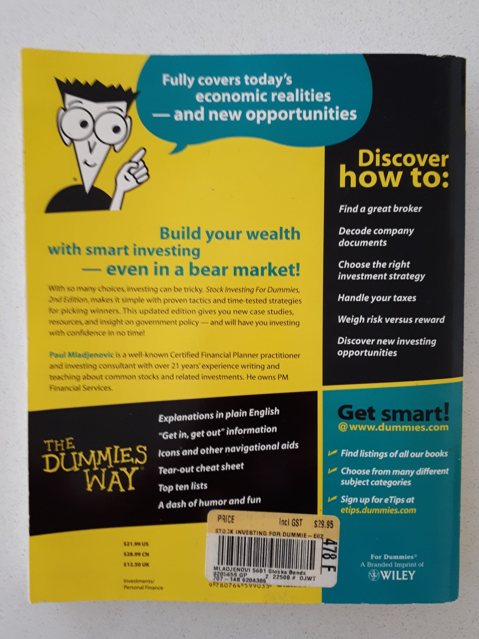 Vidulich investments for dummies emmalyn shaw oak investment partners