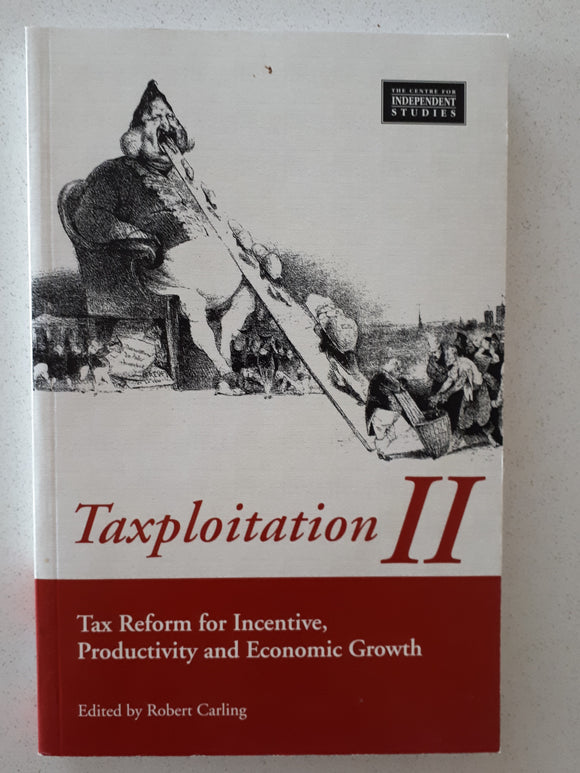 Taxploitation II edited by Robert Carling