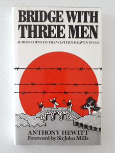 Bridge With Three Men by Anthony Hewitt