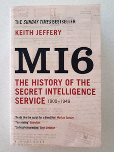 M16 The History of the Secret Intelligence Service by Keith Jeffery