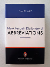 Load image into Gallery viewer, New Penguin Dictionary of Abbreviations by Rosalind Fergusson