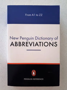 New Penguin Dictionary of Abbreviations by Rosalind Fergusson