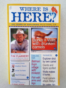 Where Is Here? by Tim Flannery