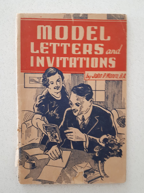 Model Letters and Invitations by John P. Monro