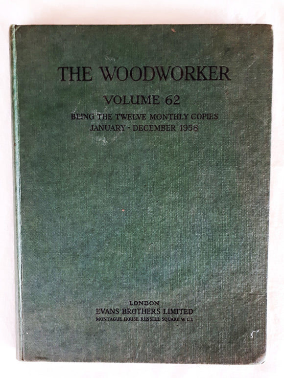 The Woodworker Volume 62