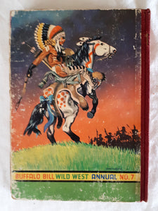 Buffalo Bill Wild West Annual #7 by Rex James and Denis McLoughlin