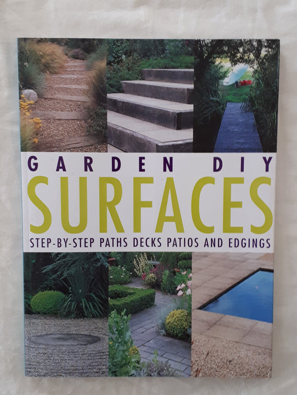Garden DIY Surfaces by Richard Key