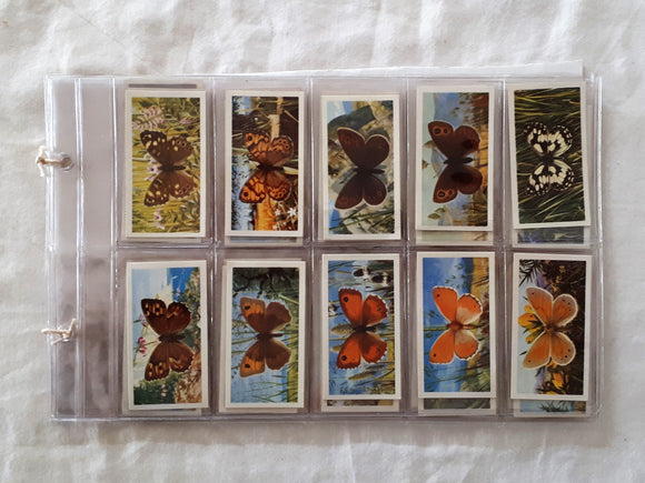 British Butterflies Collectible Card Series by Richard Ward