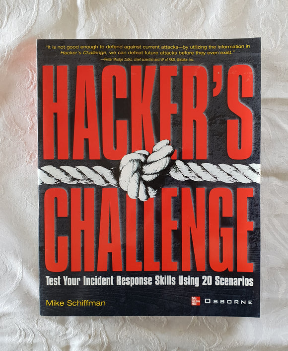 Hacker's Challenge by Mike Schiffman