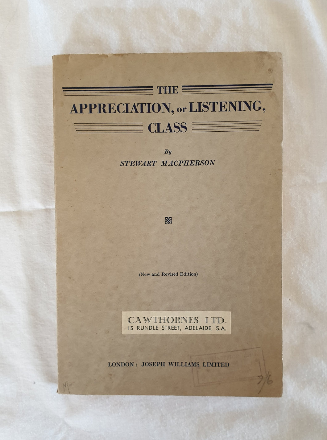 The Appreciation, or Listening, Class by Stewart MacPherson