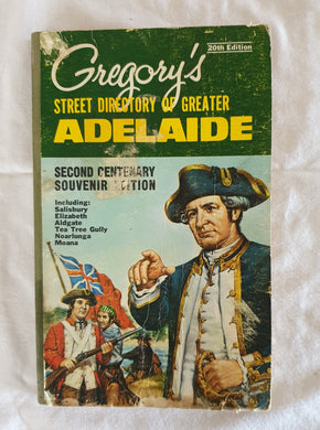 Gregory's Street Directory of Adelaide - 20th Edition