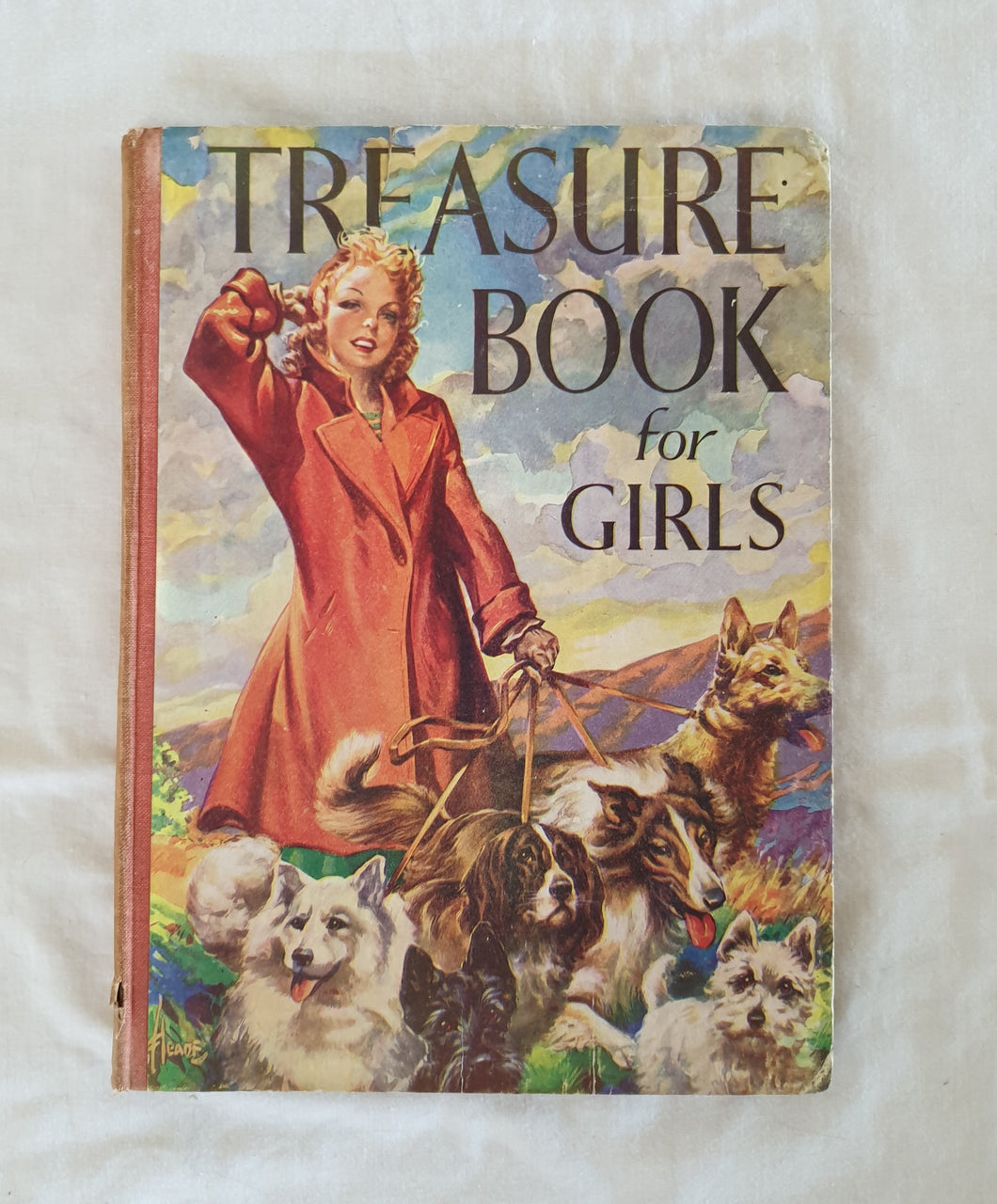 Treasure Book for Girls - The Children's Press