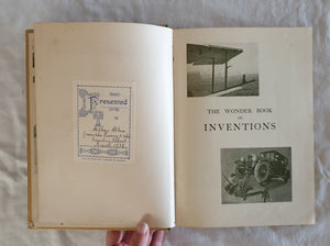 The Wonder Book of Inventions by Professor A. M. Low