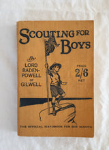 Load image into Gallery viewer, Scouting For Boys by Lord Baden-Powell of Gilwell