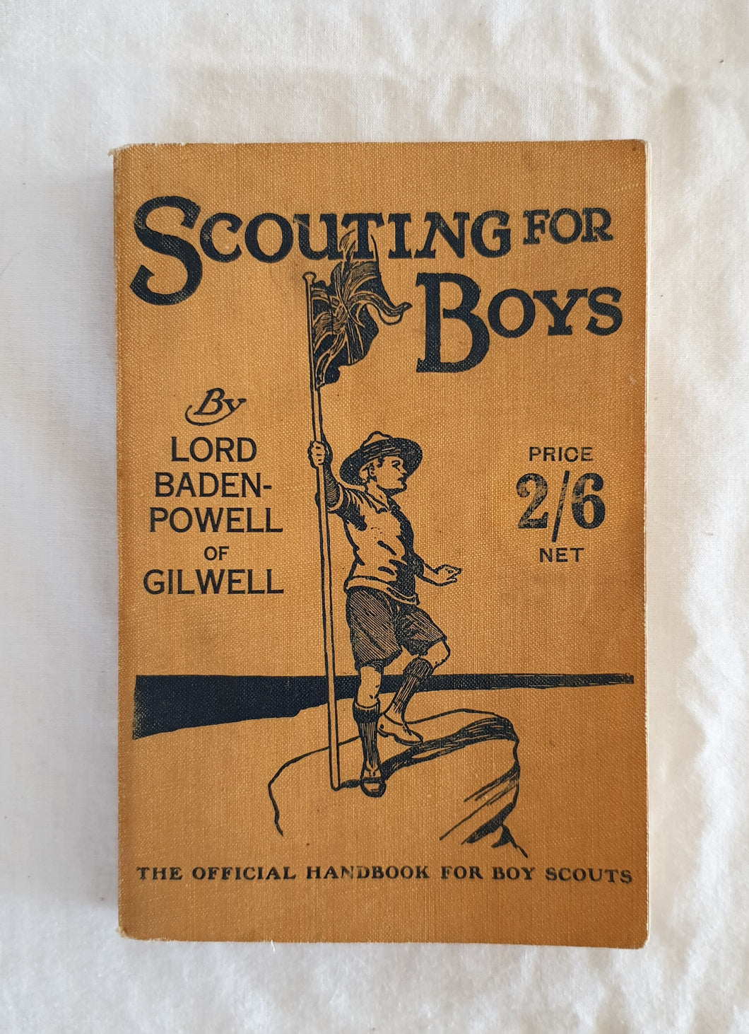 Scouting For Boys by Lord Baden-Powell of Gilwell