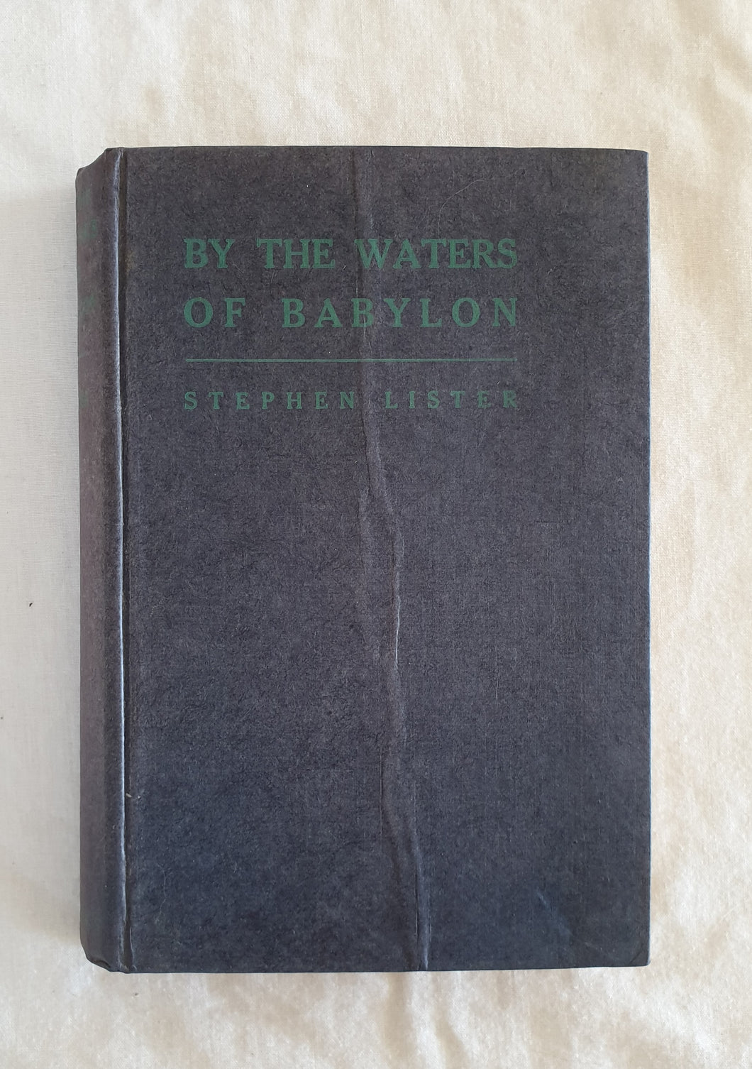 By The Waters of Babylon by Stephen Lister