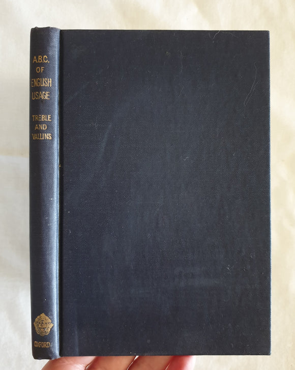 An ABC of English Language by H. A. Treble and G. H. Vallins
