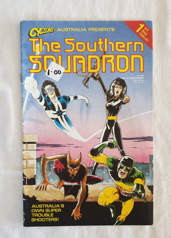 The Southern Squadron by Cyclone Comics Australia