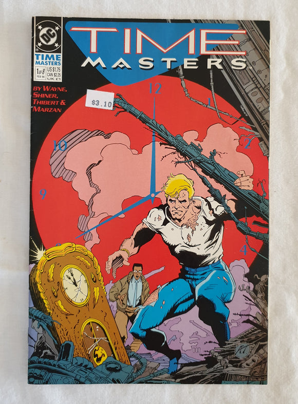 Time Masters (1 of 8) by Wayne, Shiner, Thibert and Marzan - DC Comics