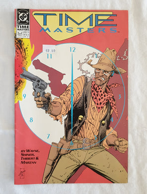 Time Masters (3 of 8) by Wayne, Shiner, Thibert and Marzan - DC Comics