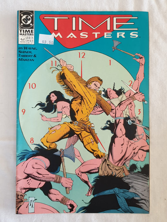 Time Masters (4 of 8) by Wayne, Shiner, Thibert and Marzan - DC Comics