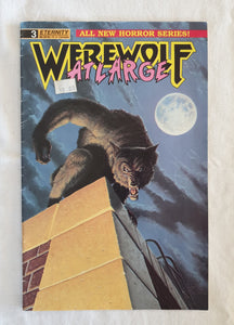 Werewolf At Large #3 by S. A. Bennett and John Ross