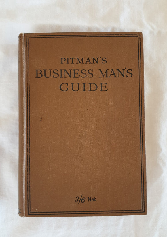Pitman's Business Man's Guide by J. A. Slater