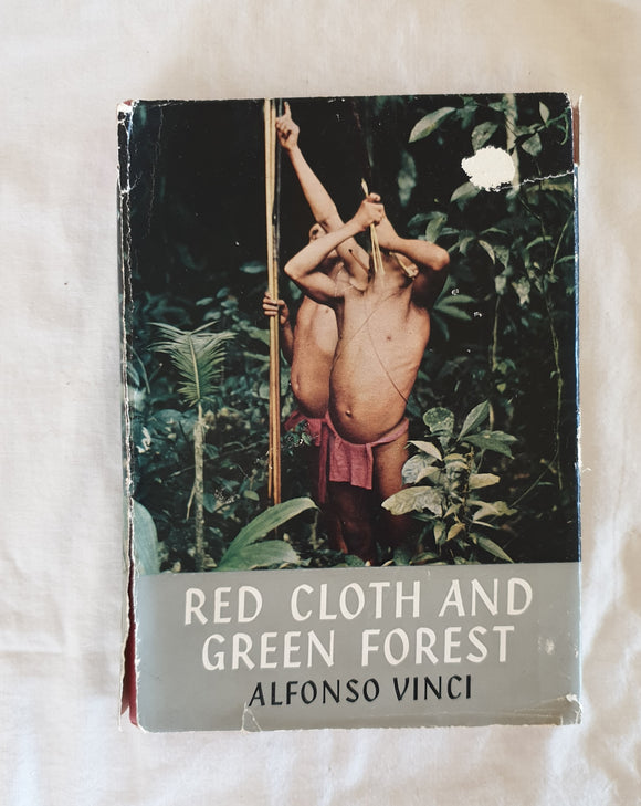 Red Cloth And Green Forest by Alfonso Vinci