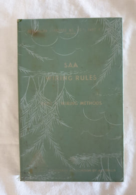 SAA Writing Rules Part 1. Wiring Methods - 1961
